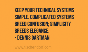 Dennis Gartman - Trading Rules Quote - Simplicity