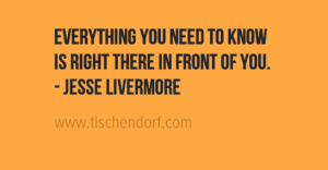 Jesse Livermore - Trading Quote - Knowing