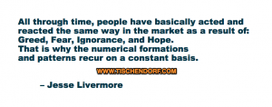 Jesse Livermore Fear Greed Ignorance Hope Timeless Trading Quotes