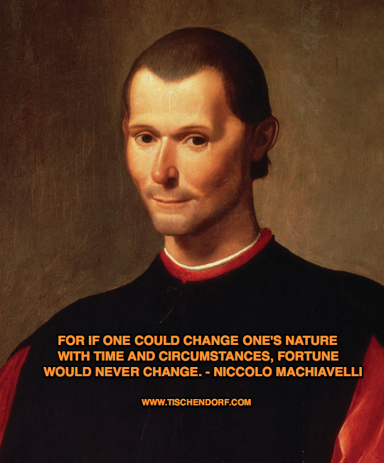 response to the prince by machiavelli Machiavelli's the prince was one of the first humanist works of the renaissance indeed it is a work of art, a literary masterpiece of sorts.