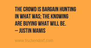 Justin Mamis - Trading Quote - Crowd