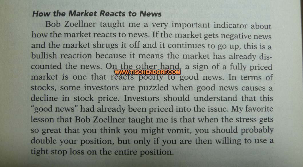 how the market reacts to news marty schwartz pit bull market